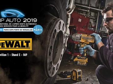 DEWALT participe à la 25e édition d'EQUIP AUTO