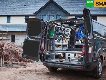 Bott Smartvan : Système daménagement du véhicule utilitaire