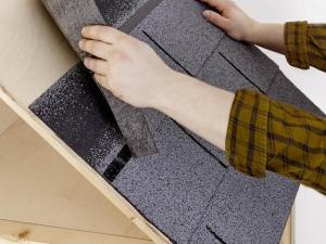 Fabrication d'un abri pour stocker son bois de chauffage