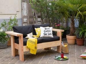 Fabriquer un canapé de jardin