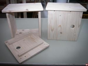 Fabrication des tables de nuits © Zone Outillage