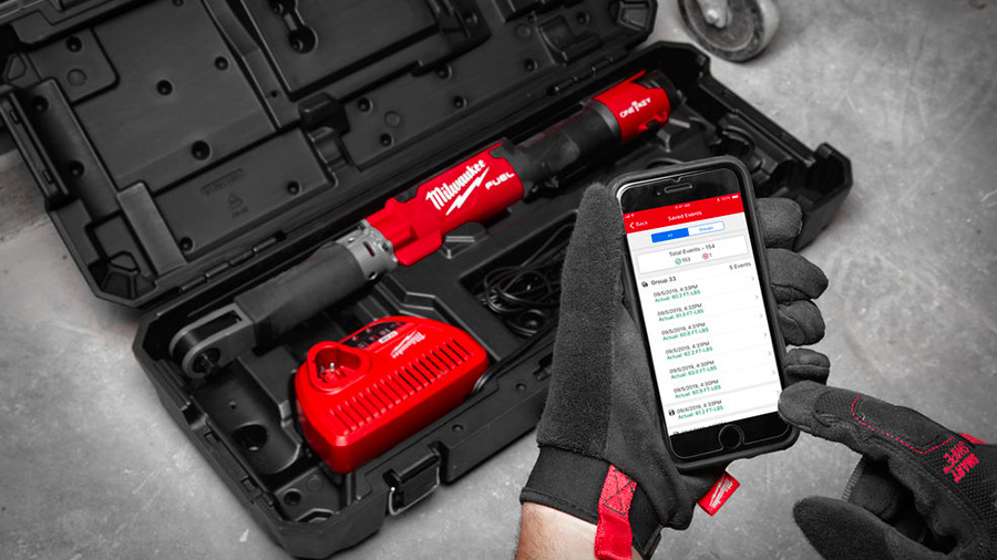 Milwaukee dévoile ses première clés dynamométriques numériques M12 ONEFTR12 et M12 ONEFTR38