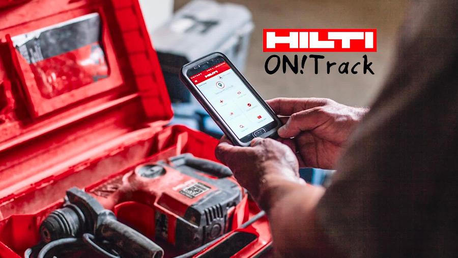 Connectivité : ON! Track Hilti