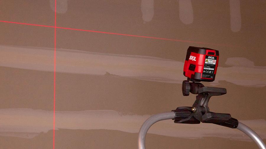 Laser croix lignes rouges SKIL 1910 AA