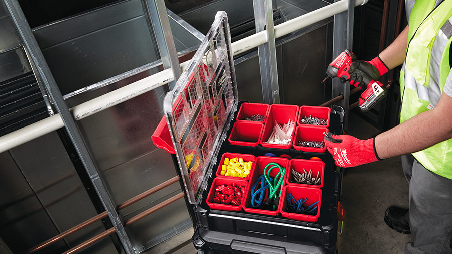 Système de stockage modulaire PACKOUT de Milwaukee