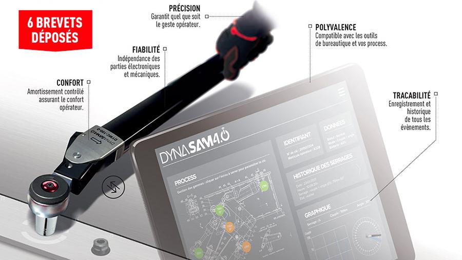 Optimisez vos serrages avec la clé dynamométrique DYNASAM 4.0 SAM Outillage