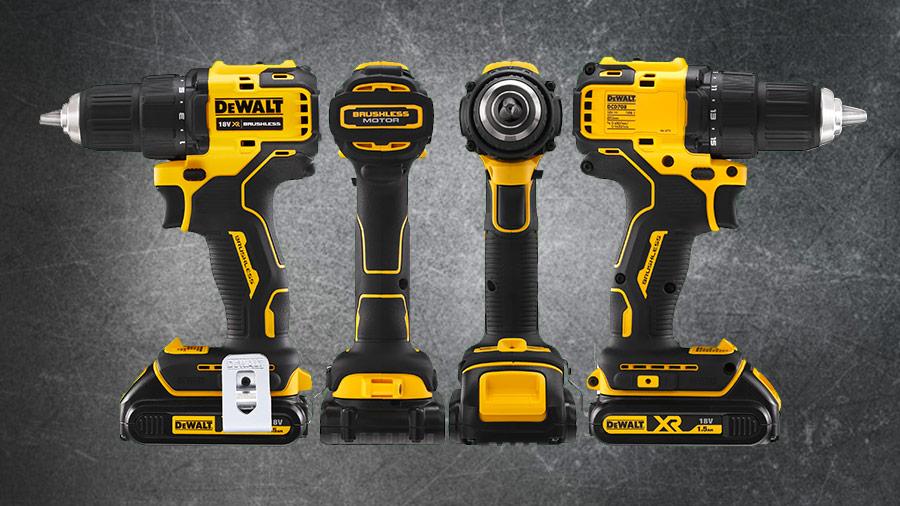 DEWALT complète sa gamme COMPACT XR 18V avec deux nouvelles perceuses