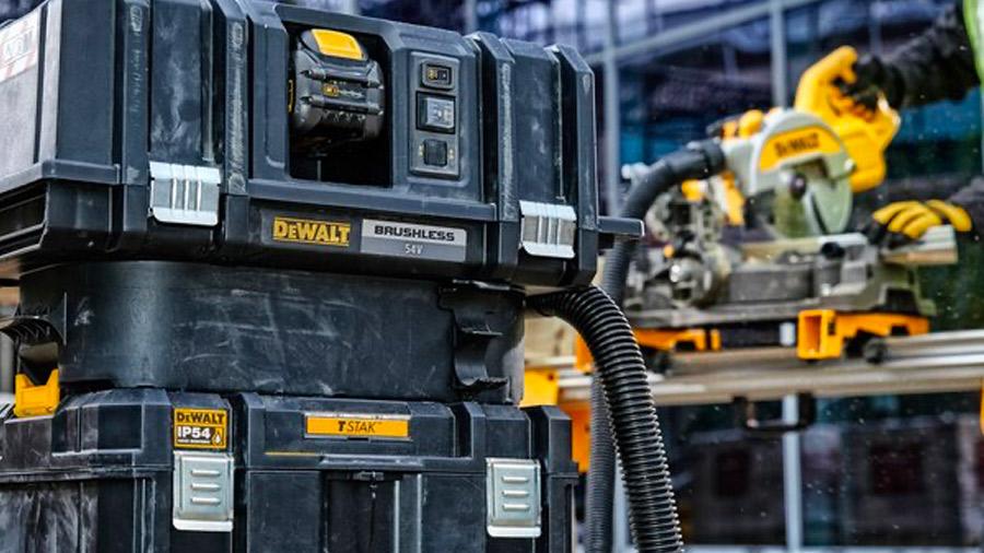 Coffret TSTAK IP54 grande contenance DEWALT