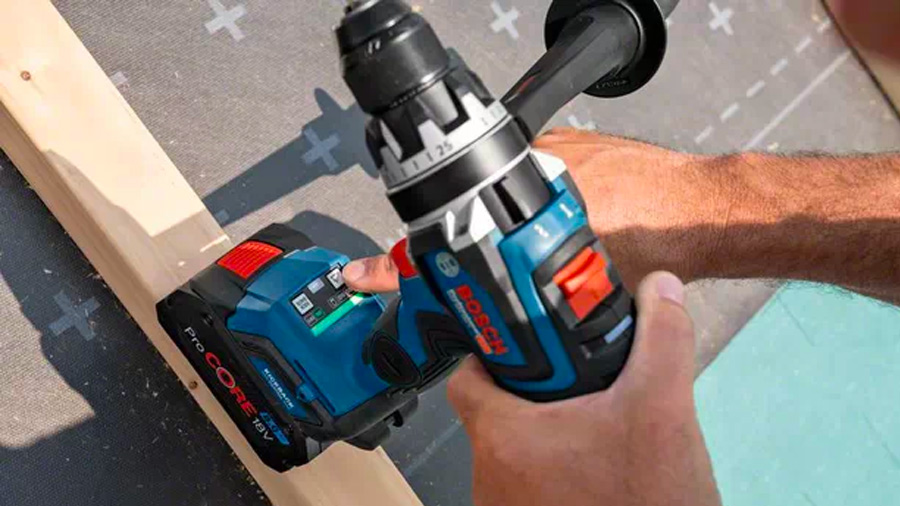 Perceuse visseuse sans fil brushless biturbo GSR 18V 150C Bosch Professional