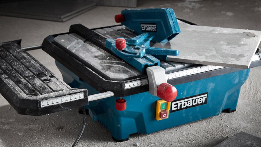 Coupe carrelage électrique Erbauer ERB337TCB 180 mm