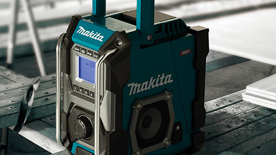 MR001G, MR002G et MR004G, les 3 nouvelles radios de Makita