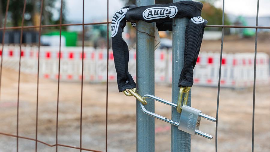 Les solutions ABUS pour lutter contre les vols sur les chantiers