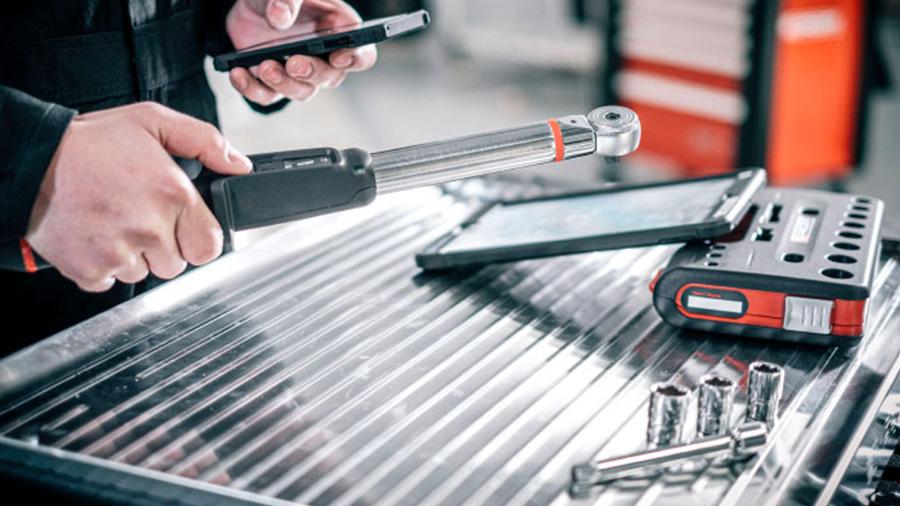 Clé dynamometrique FACOM Smart torque