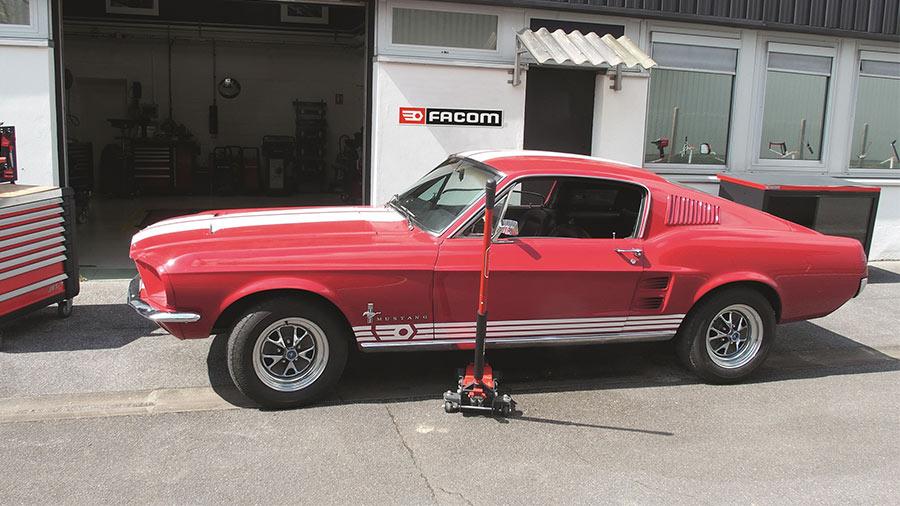 Projet Mustang Fastback 1967 Facom - restauration Mustang Fastback 1967 par facom