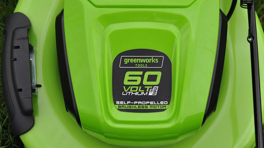 Test et avis de la tondeuse à gazon GD60LM51SP GREENWORKS 2502907