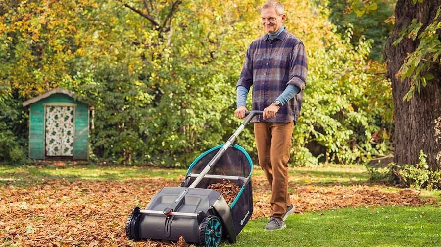 Test et avis collecteur de feuilles et d'herbe 3565-20 GARDENA