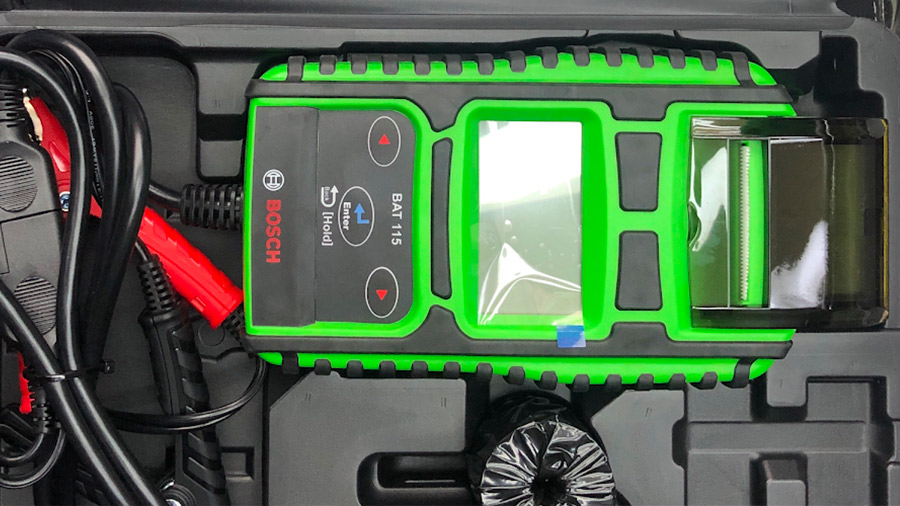 testeur de batteries Bosch BAT 115